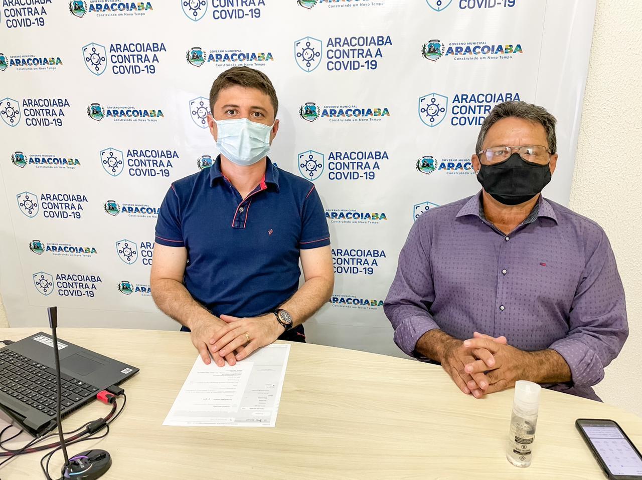 Aracoiaba: prefeito Thiago Campelo reduz seu salário, do vice e dos secretários municipais