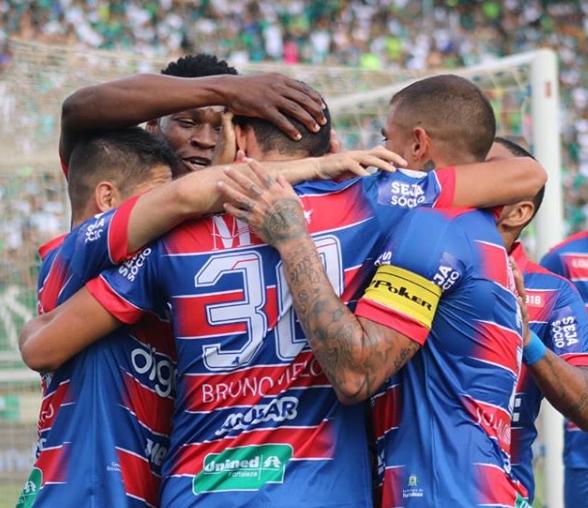 Fortaleza vence o Goiás e garante vaga na Sul-americana de 2020