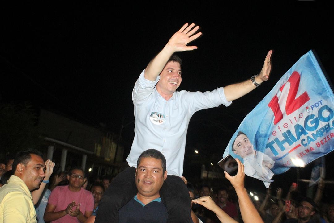 Thiago Campelo é eleito prefeito da cidade de Aracoiaba