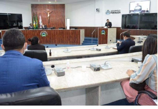 Vereadores de Fortaleza aprovam tramitação da  reforma da Previdência do município