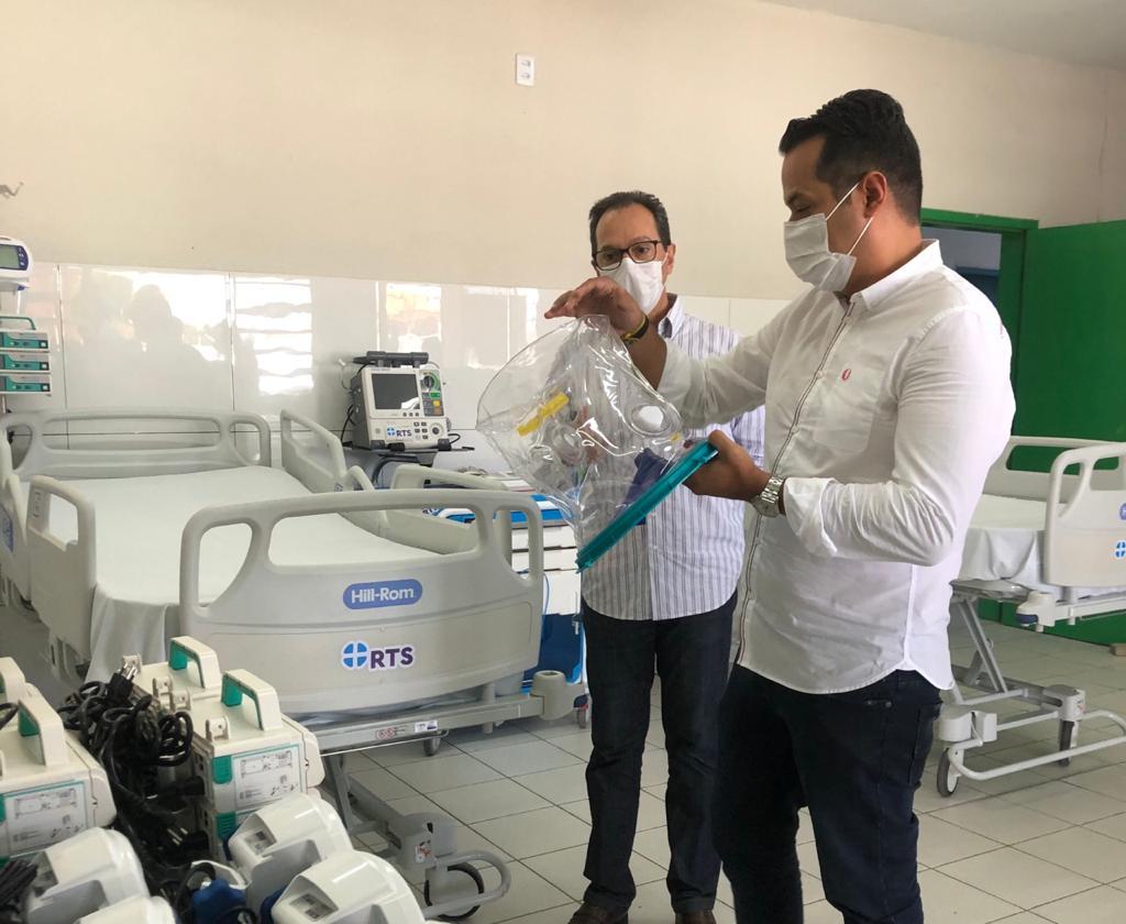 Prefeitura de Caucaia abre 10 novos leitos de UTI para COVID-19