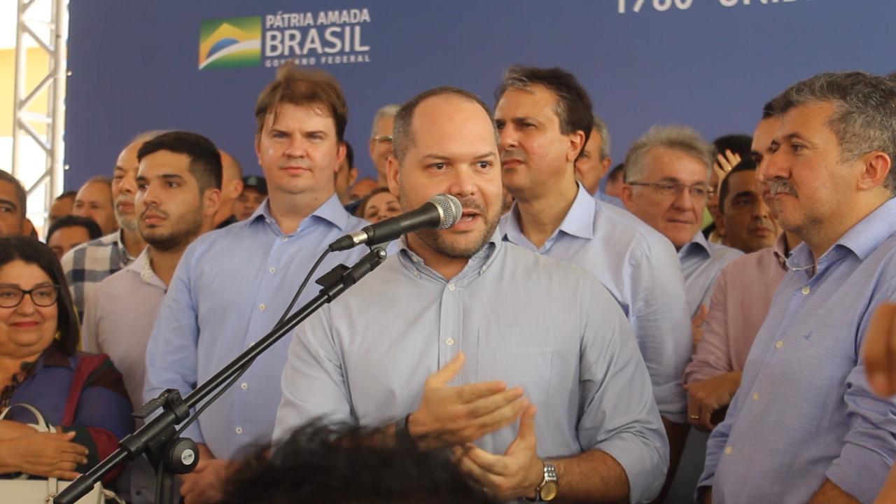 Deputado Heitor Freire ao lado de Camilo diz que as eleições passaram e a hora é de  trabalhar juntos