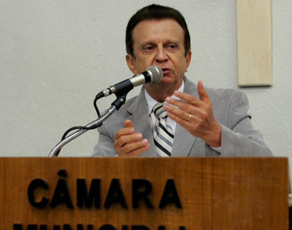 Velório do ex-vereador Zé do Carmo acontece hoje na Câmara Municipal de Fortaleza