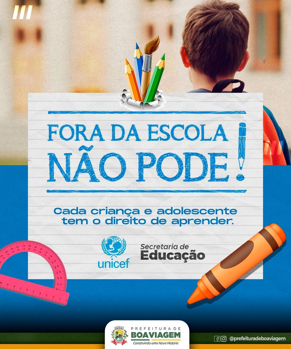 Secretaria de Educação de Boa Viagem confirma a READESÃO da BUSCA ATIVA ESCOLAR