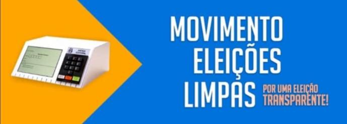 Movimento Eleições Limpas  será lançado nesta segunda-feira às 10 horas