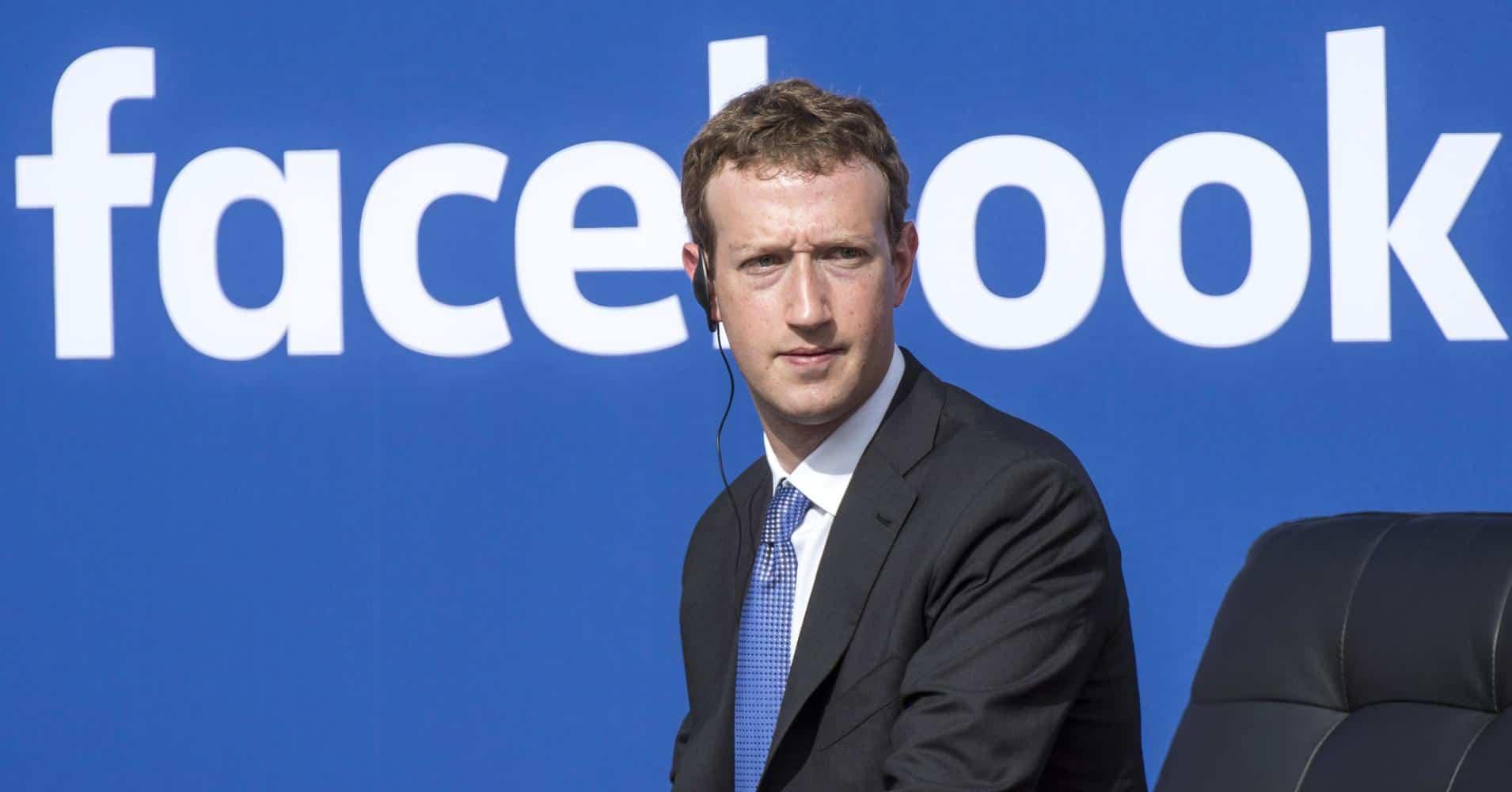 Dono do Facebook perde quase US$ 6 bilhões
