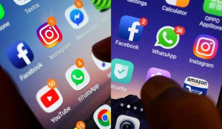 WhatsApp, Instagram e Facebook ficaram fora do ar nesta segunda-feira - comunicado