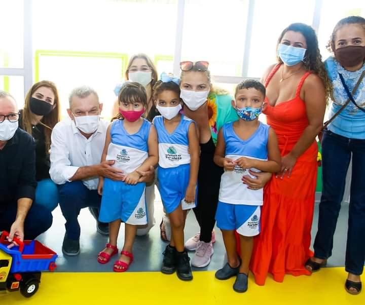 Sarto inaugura sétimo Centro de Educação Infantil neste ano no bairro Papicu