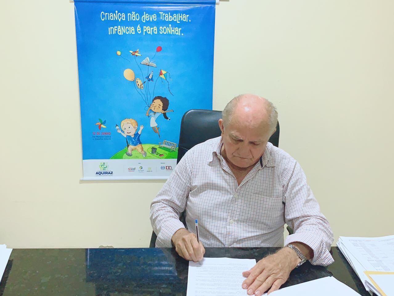 Prefeitura de Aquiraz reforça compromisso com erradicação do trabalho infantil e Escola em Tempo Integral