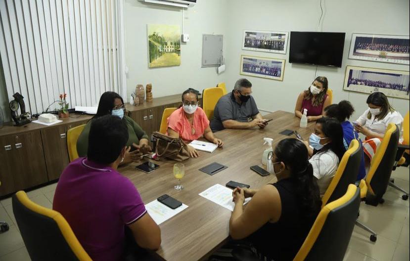 Pacatuba: vice-prefeito Rafael Marques se reúne com agentes de saúde