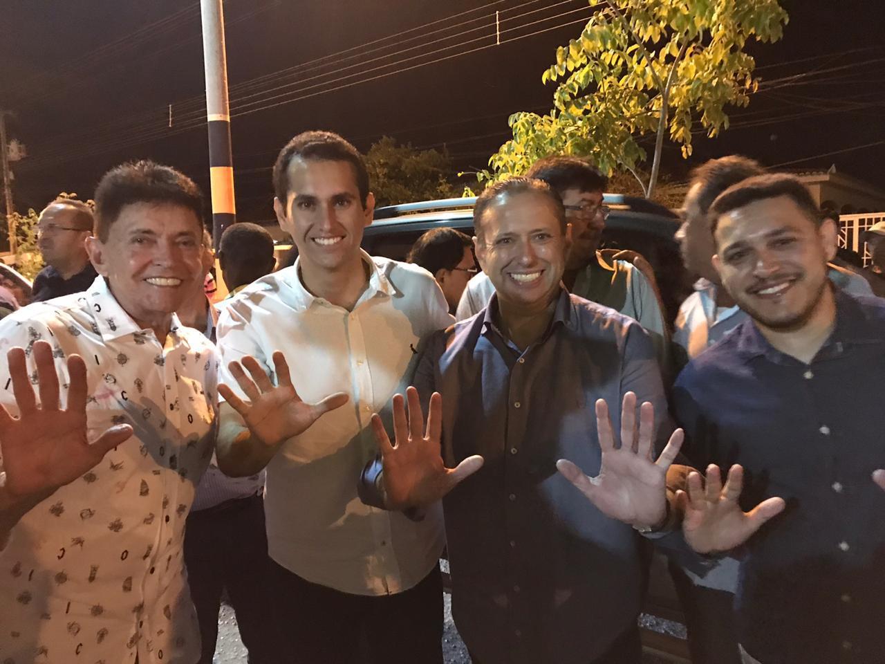 Município de Milagres reúne multidão para filiação de Hellosman Sampaio no PSD