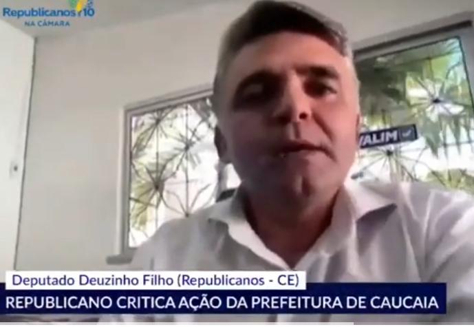 Deputado denuncia fraudes em livros confeccionados pela Prefeitura de Caucaia - vídeo