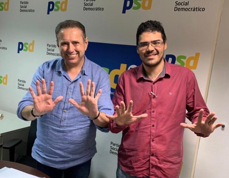 Domingos Filho leva mais um prefeito para o PSD