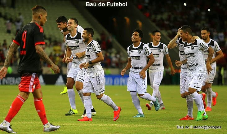 Ceará vence Flamengo por 2 a 0 no Maracanã