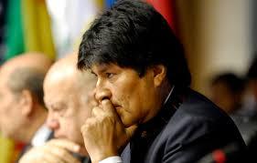 Evo Morales deixa à presidência da Bolívia