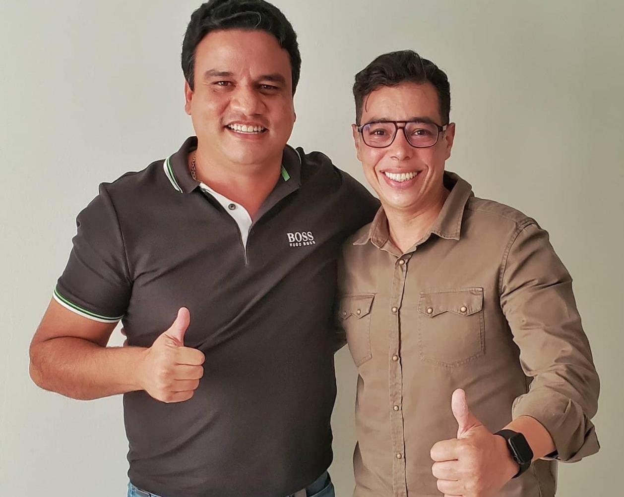 Pacatuba: vice-prefeito Rafael Marques e Leonardo Araújo unidos para trazer melhorias para o município