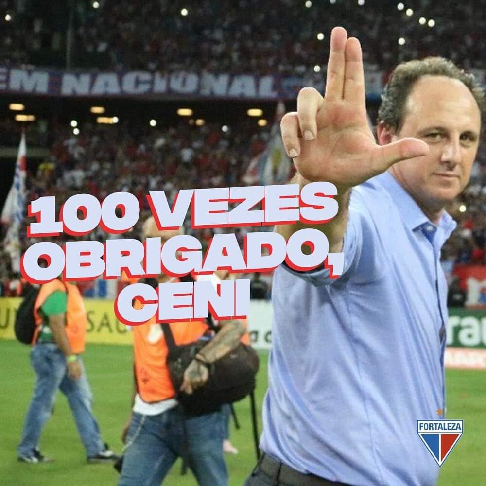 Rogério Ceni não é mais treinador do Fortaleza