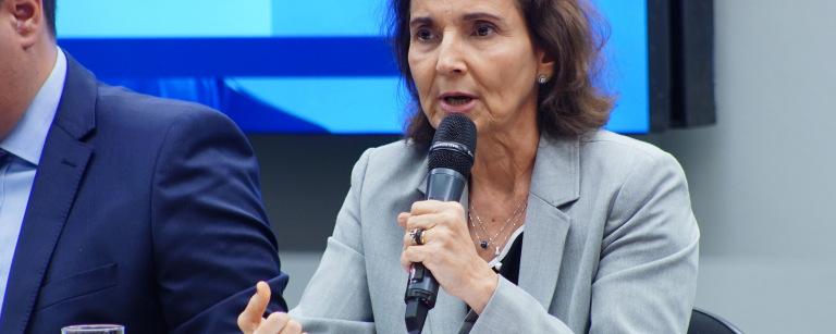 Vice-governadora Izolda Cela e a deputada Tabata Amaral defendem investimento federal na educação básica