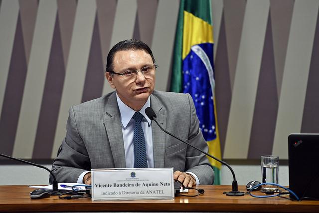 De Brasília: advogado cearense Vicente Aquino é reconduzido ao Conselho da Anatel