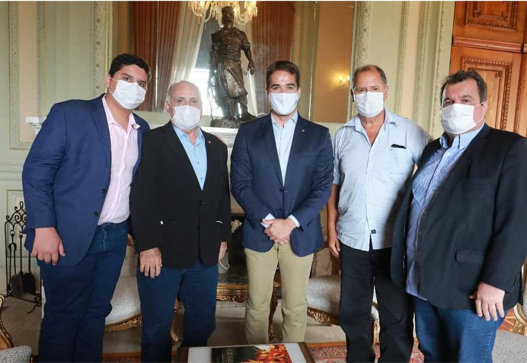 Maracanaú: prefeito Roberto Pessoa se reúne com governador do Rio Grande do Sul para dividir experiência