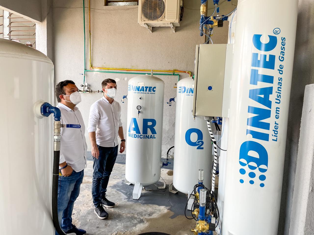 Prefeitura de Aracoiaba garante oferta de oxigênio para o Hospital Santa Isabel