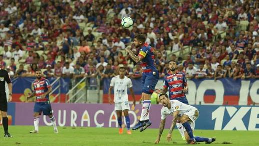 Fortaleza vence o Cruzeiro na Arena Castelão e sai da zona de rebaixamento da Série A