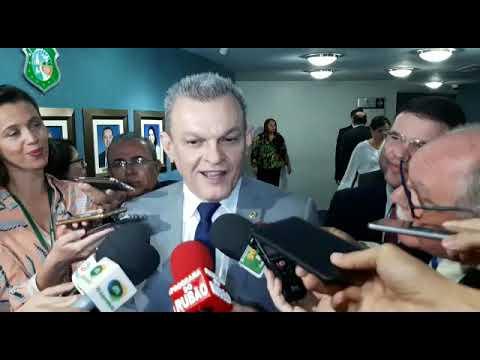 Deputado Sarto Nogueira assume o Governo do Estado