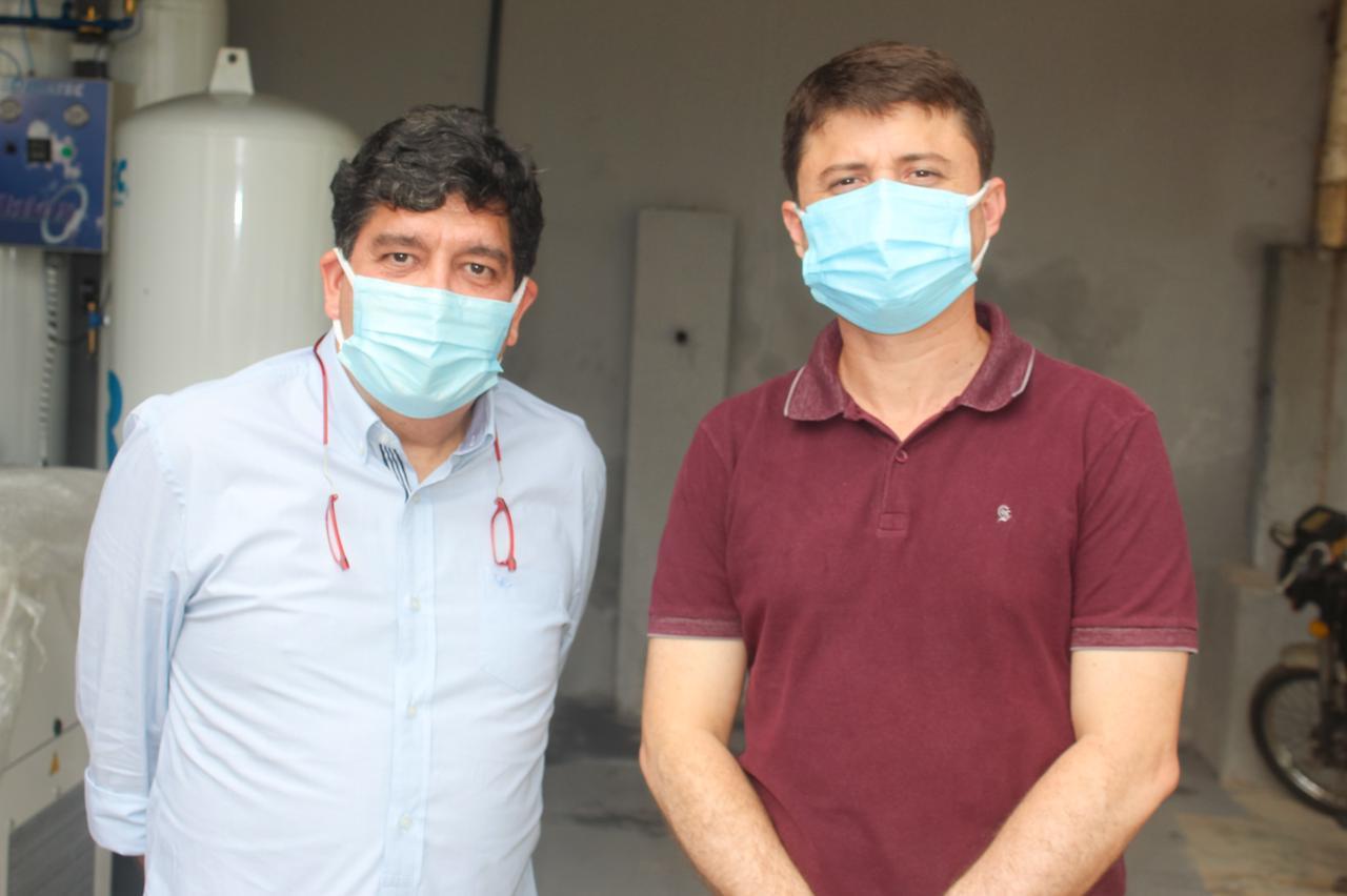 Dr. Cabeto visita Aracoiaba e anuncia Hospital de Campanha no município
