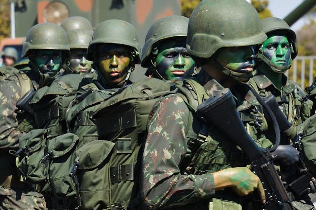 Pesquisa Datafolha afirma: Forças Armadas é a instituição mais confiável pelos brasileiros