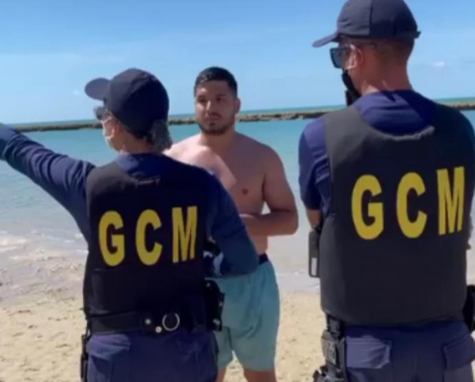 Deputado André Fernandes desrespeita decreto estadual de Pernambuco e vai parar na Delegacia - vídeo