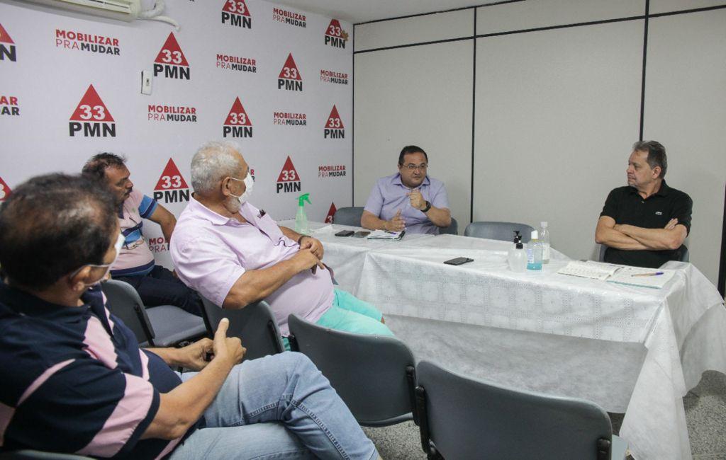 PMN-CE se reúne com pré-candidatos a deputados estaduais e federais