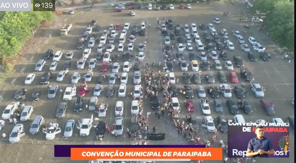 Realizada primeira convenção 'drive in' no Ceará