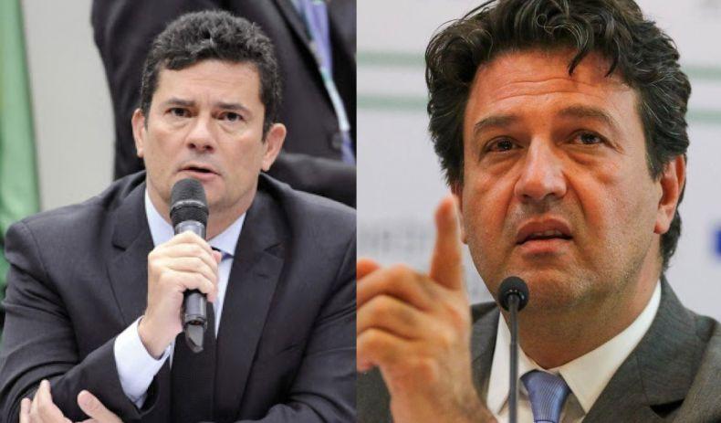 Mandetta revela vontade de Moro ser candidato a presidente em 2022