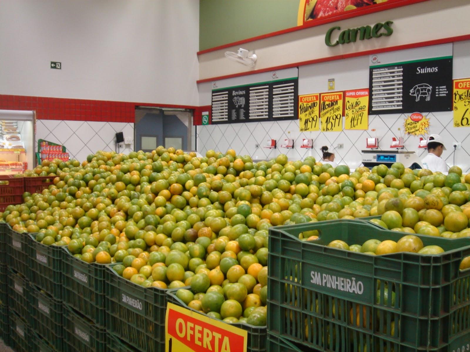 Pesquisa em supermercados de Fortaleza mostra variação de mais de 700% no preço da laranja
