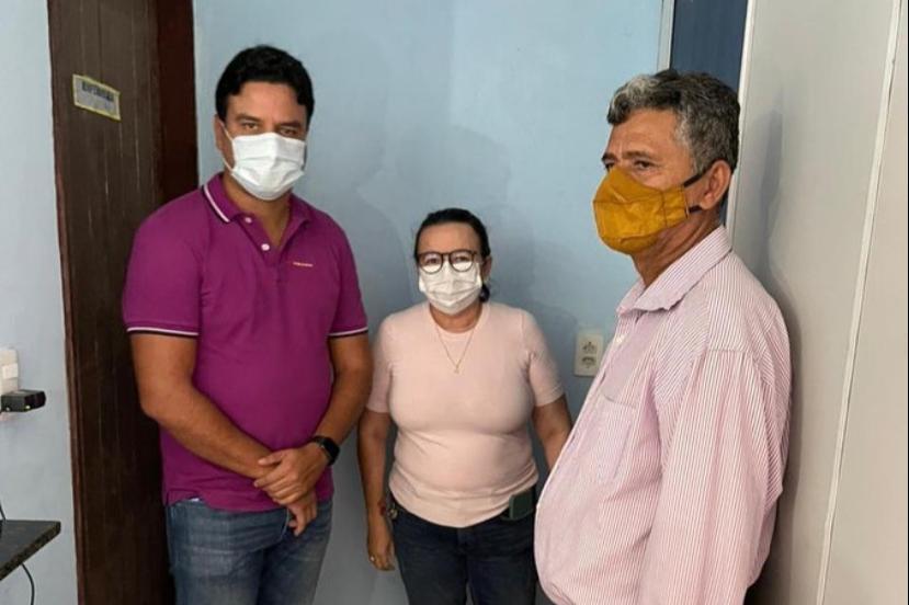 Pacatuba: vice-prefeito Rafael Marques participa de inauguração da Unidade de Saúde da Família