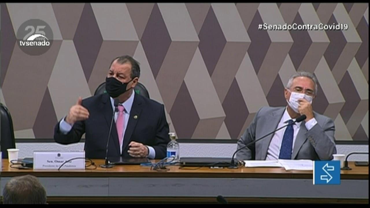 Presidente do Senado Rodrigo Pacheco prorroga CPI da Pandemia