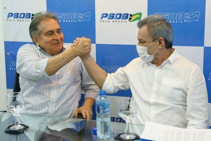 Tasso Jereissati declara apoio do PSDB a Sarto