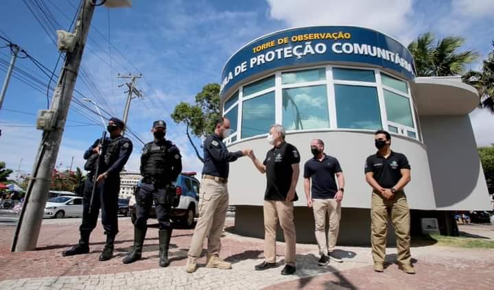Sarto entrega Torre de Segurança no Centro de Fortaleza