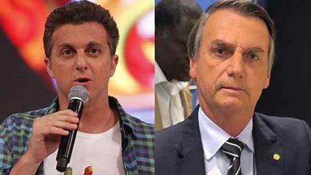 Bolsonaro responde críticas de Luciano Huck e diz que vai mostrar quem usou dinheiro do BNDES para comprar jatinho