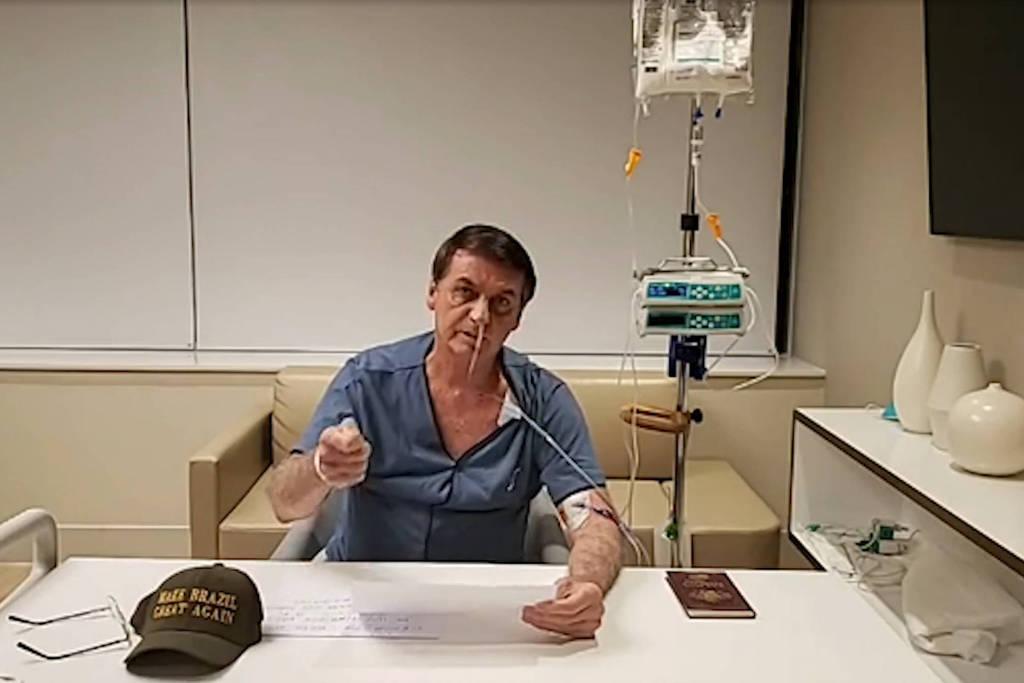 Porta voz da presidência diz que Bolsonaro deve ter alta médica nessa segunda ou terça-feira