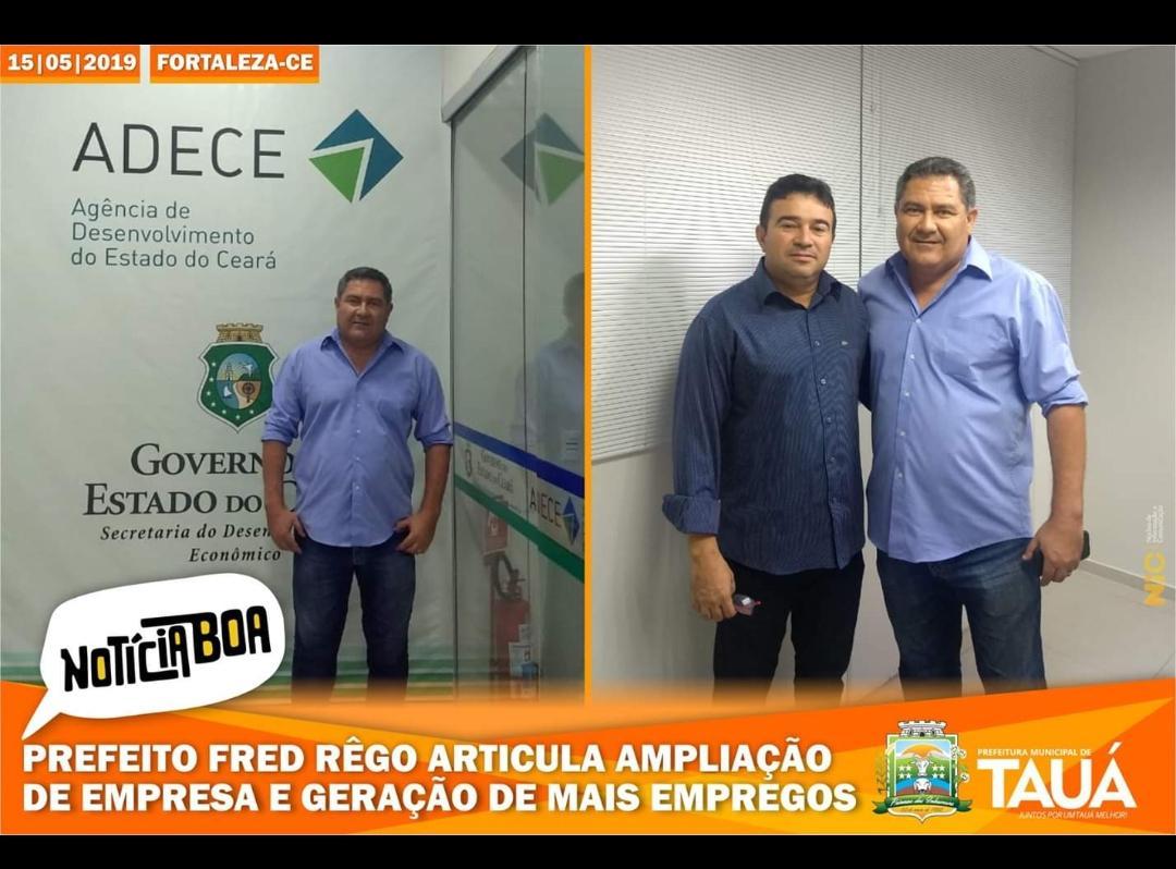 Prefeito Fred Rêgo articula ampliação de empresa e geração de mais empregos