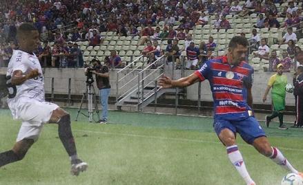 Fortaleza e Atlético-PR ficam apenas no empate no primeiro confronto da Copa do Brasil