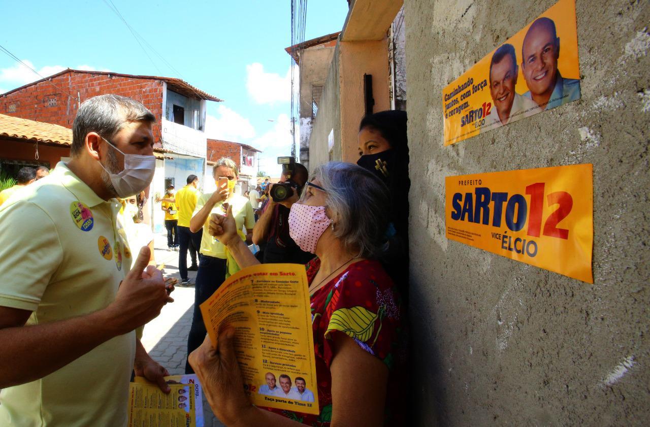 No Barroso, Élcio afirma que Sarto avançará em obras de infraestrutura, levando dignidade a bairros vulneráveis