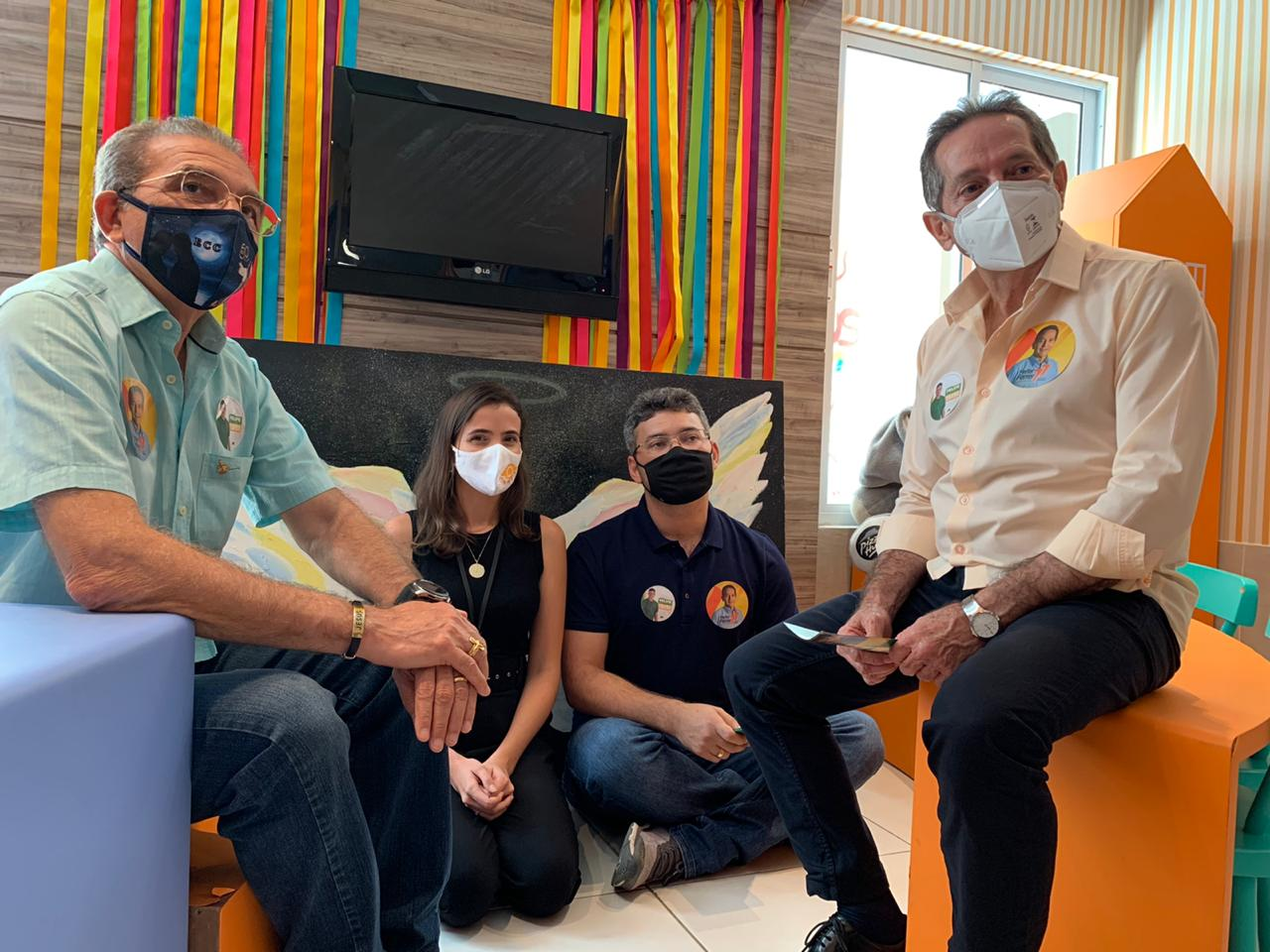 Heitor Férrer visita entidade de combate à cegueira infantil e destaca programa 'Volte a Enxergar'