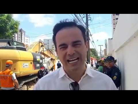 Deputado Capitão Wagner denuncia falta de vistoria nos prédios de Fortaleza