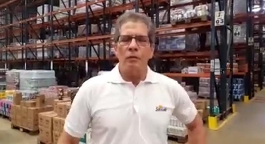 Presidente da rede de Mercadinhos São Luiz afirma que não está faltando produto