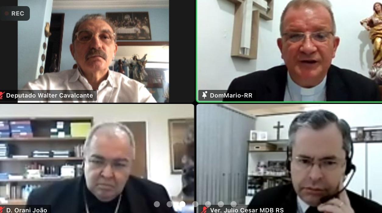 Deputado Walter Cavalcante participa de encontro promovido pela CNBB com parlamentares católicos