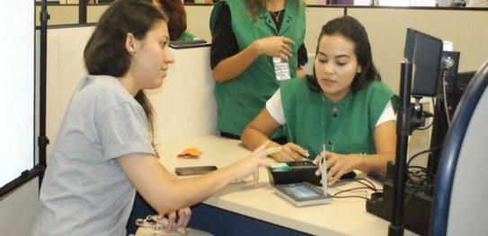 Quase metade dos eleitores de Fortaleza ainda não cadastraram a biometria, informa TRE