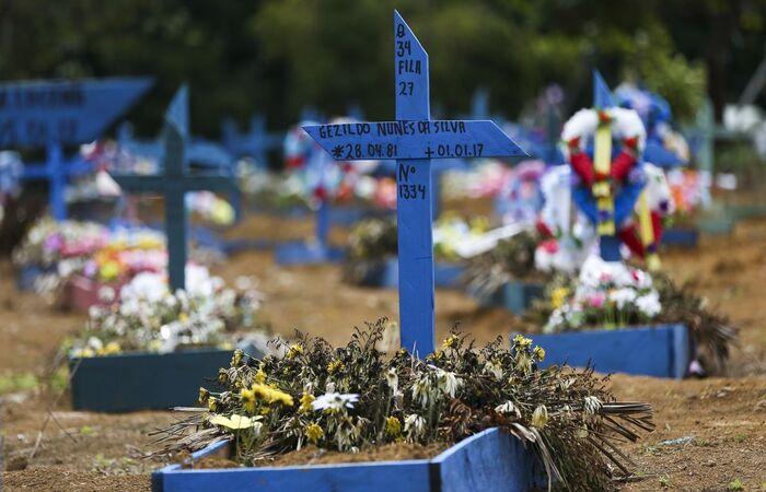 Brasil pode ultrapassar a marca de 750 mil mortes por Covid-19 até o meio do ano, diz estudo