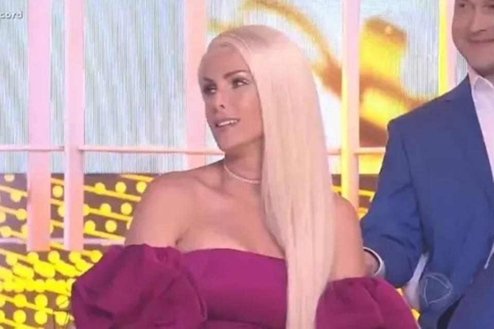 Ana Hickmann muda o visual e internautas a comparam com Drag queen